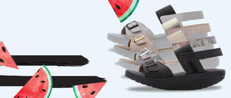 Лето скидок! Женские сандалии Walkmaxx Pure со СКИДКОЙ -50%!