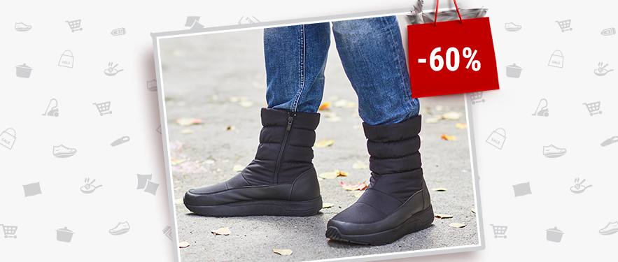 Мужские зимние сапоги Walkmaxx Comfort со СКИДКОЙ -60%!