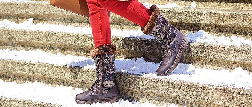 Зимние низкие женские сапоги Walkmaxx Comfort