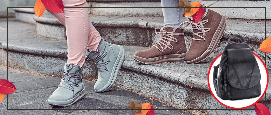 НОВИНКА! Полусапоги на шнуровке Comfort
