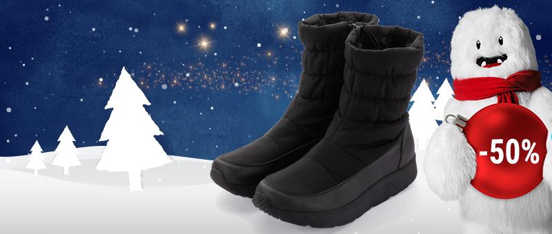 Мужские зимние сапоги Walkmaxx Comfort со СКИДКОЙ -50%!