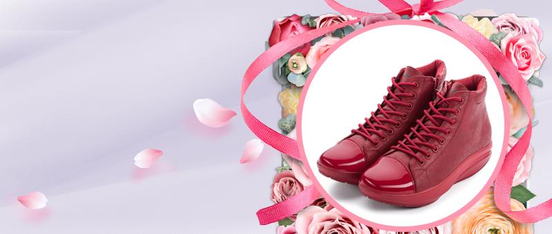 Женские ботинки на молнии Wedge