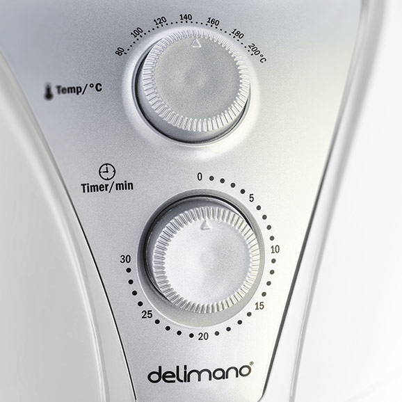 Фритюрница с горячим воздухом Delimano Air Fryer Белая